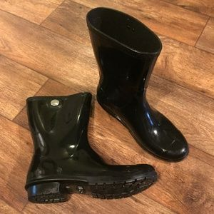 Ugg Sienna Rainboot Black 10